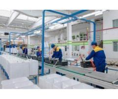 Італійський завод по виробництву запчастин до пральних машин і посудомиючих машин